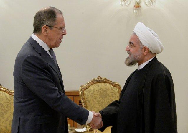 Sergey Lavrov -  Hasan Ruhani