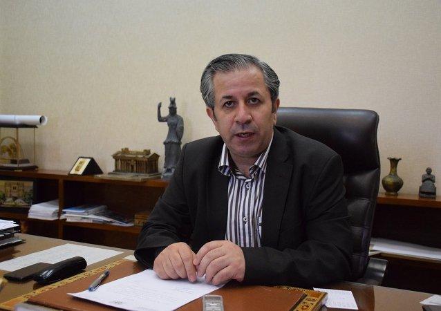Suriye Kültür Bakanlığı Antikalar ve Müzeler Müdürü Maun Abdulkerim