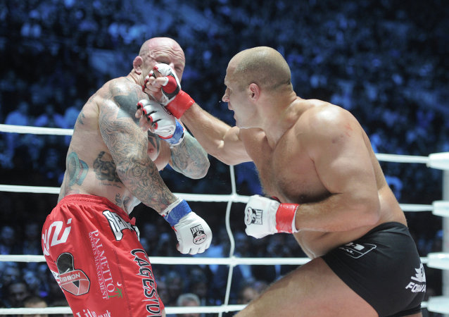 Feodor Emelianenko & Jeff Monson