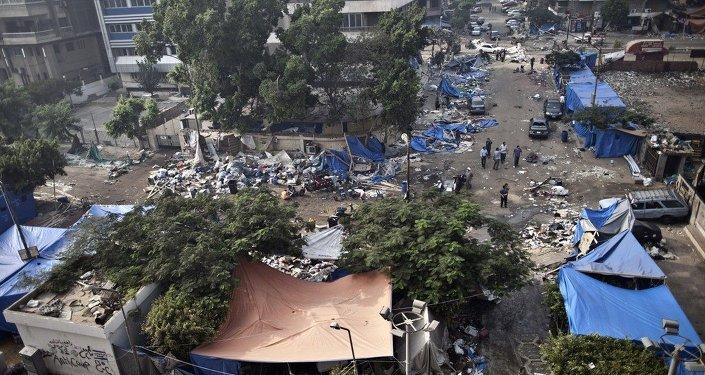 Mısır- Rabia meydanı