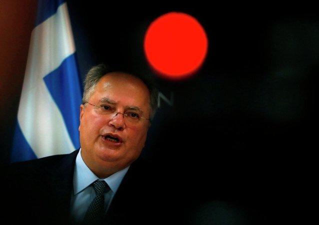 Yunanistan Dışişleri Bakanı Nikos Kocyas (Nikos Kotzias)