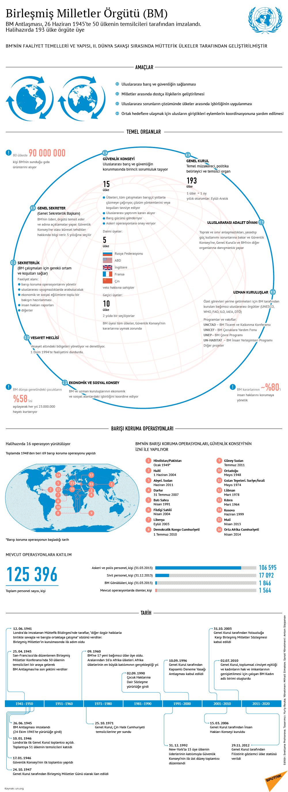 Birleşmiş Milletler Örgütü (BM)