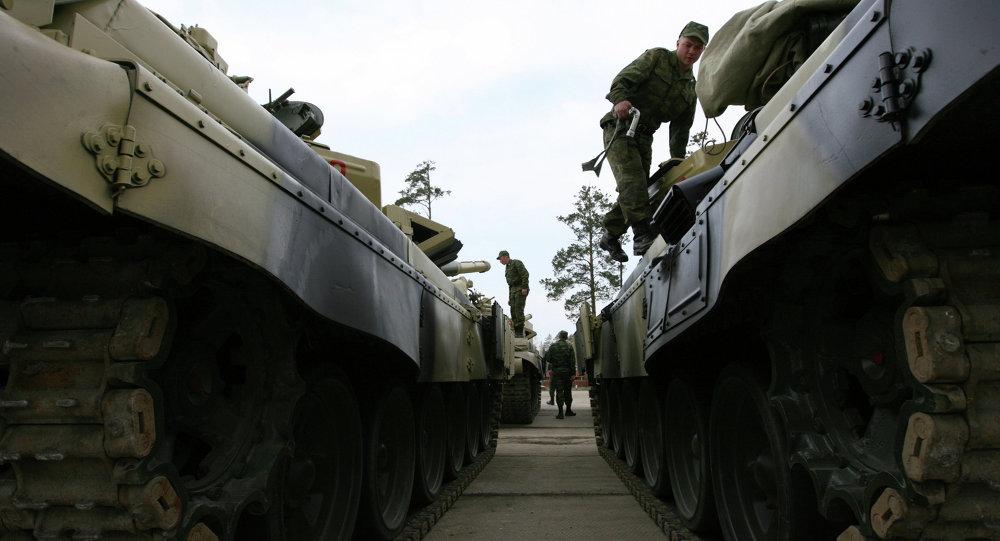 T-72 tankları