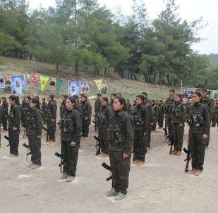 Afrin'deki YPG güçleri