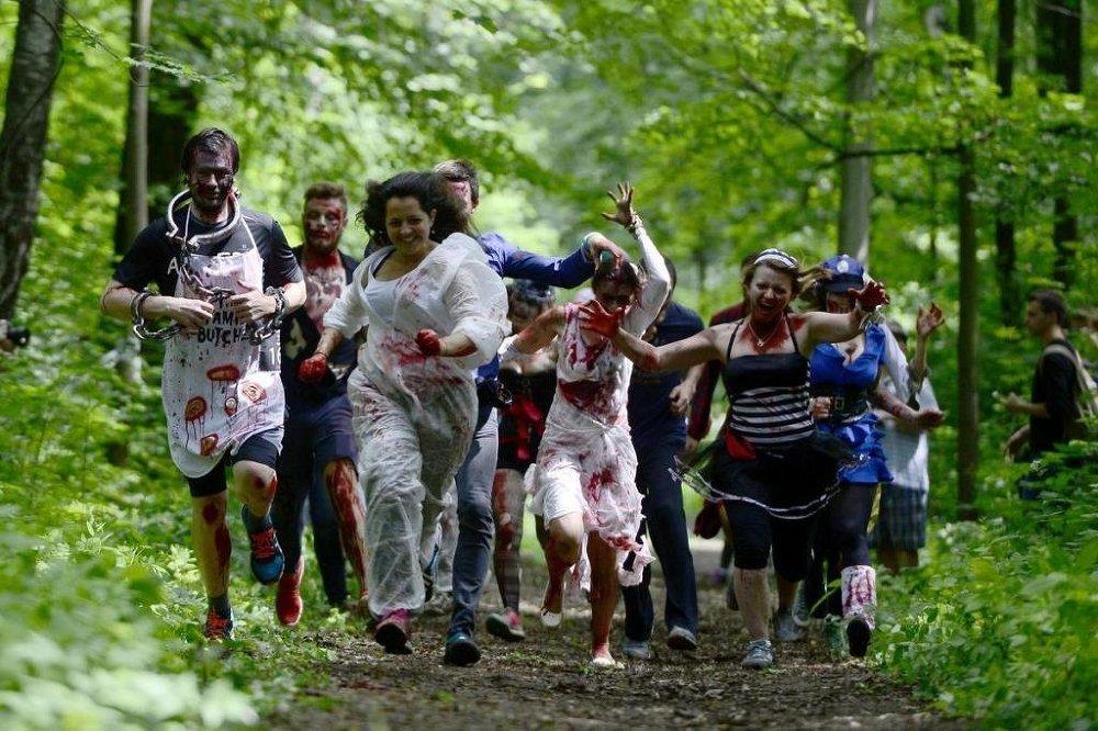 Moskova'yı zombiler bastı