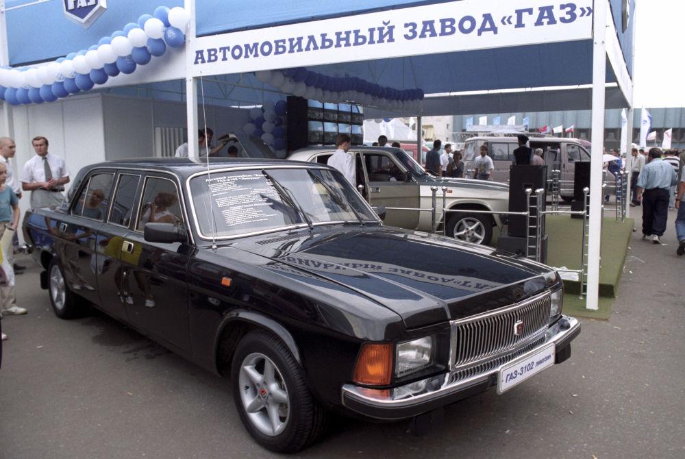 Volga Gaz-3102 limuzini, Expocenter fuar merkezinde