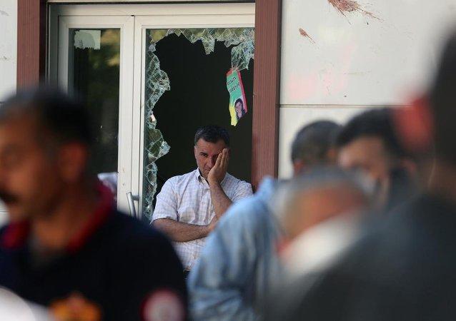 Suruç'ta terör saldırısı