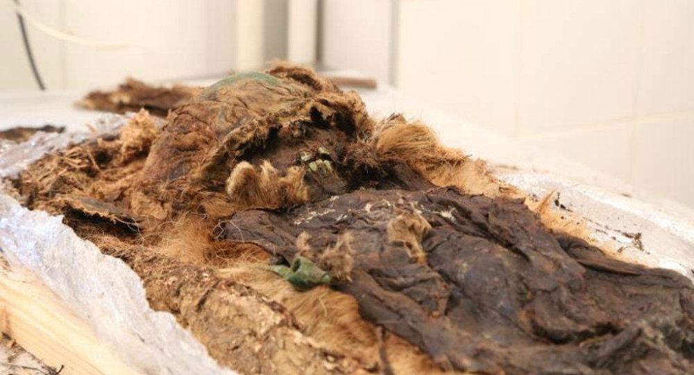 Mumyalanmış ceset