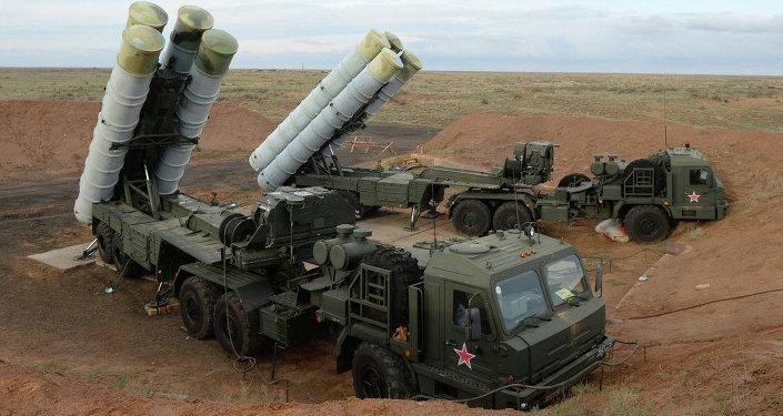 S-400 Triumf hava savunma füze sistemi
