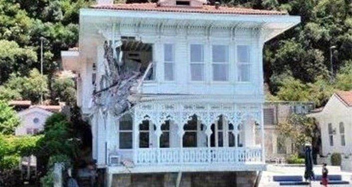 İstanbul Boğazı'nda gemi kazası