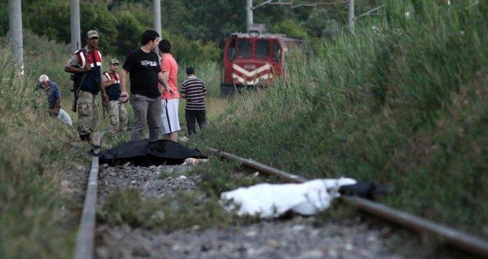 Hatay tren kazası