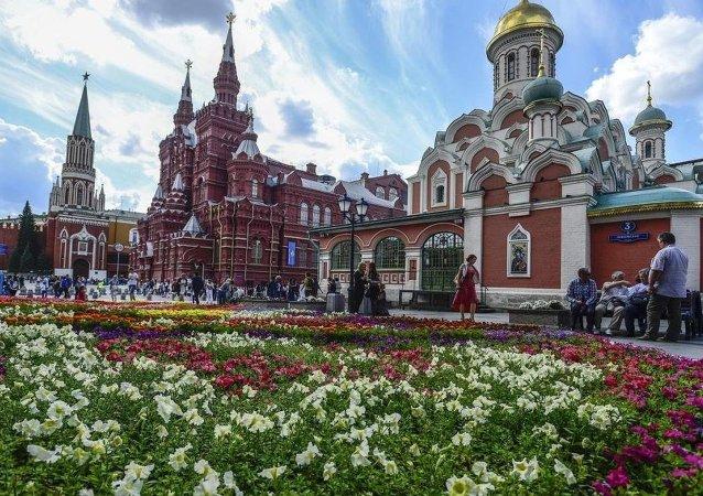 Moskova çiçek festivali