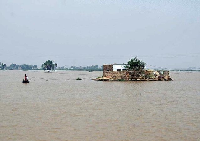 Muson yağmurları - Pakistan