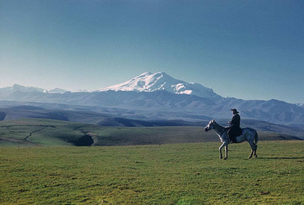 Elbrus manzarası
