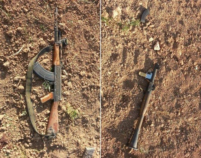 TSK güçlerinin açtığı ateşte 1 IŞİD militanı öldürüldü.IŞİD militanının cesedi, sınırdan alınarak karakolun bahçesine getirildi. Militana ait 1 roketatar, 1 kalaşnikof ve çok sayıda mühimmat da ele geçirildi.
