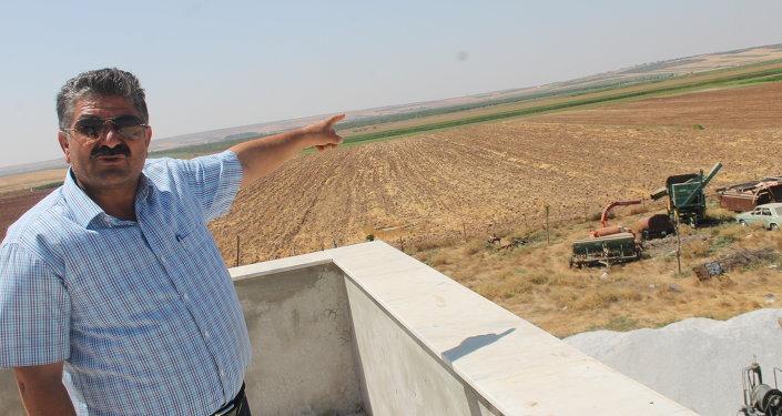 Beylerbeyi köyü muhtarı Ahmet Solak