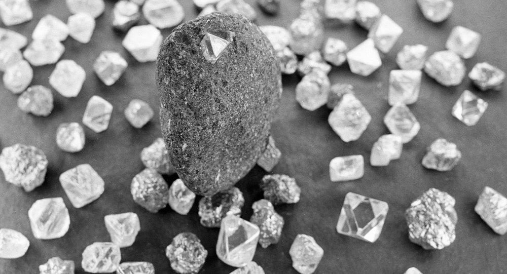 Katrilyon ton elmas yatağı bulundu