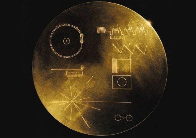 Uzaylılara gönderilen altın plaklar