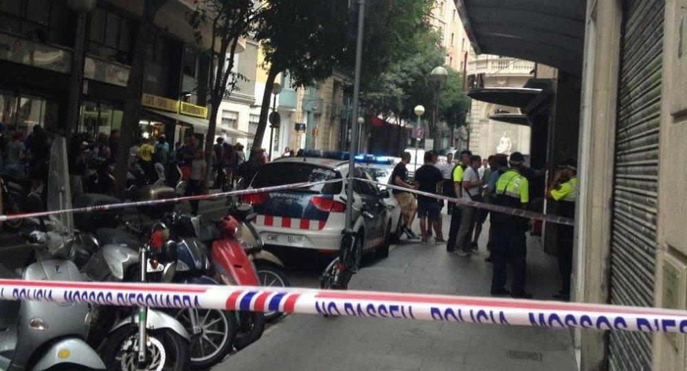 Katalonya'da İspanyol polis karakoluna saldırı