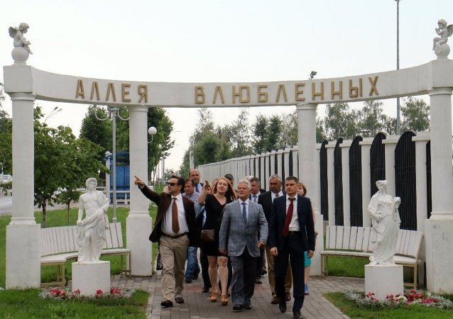 Marmaris Belediye Başkanı Ali Acar ve Marmaris Belediye Meclisi üyelerinden Dzerjinskiy ziyareti.