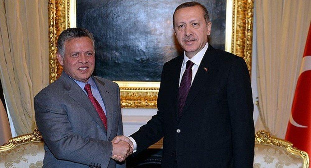 Cumhurbaşkanı Recep Tayyip Erdoğan, Ürdün Kralı Abdullah bin Hüseyin
