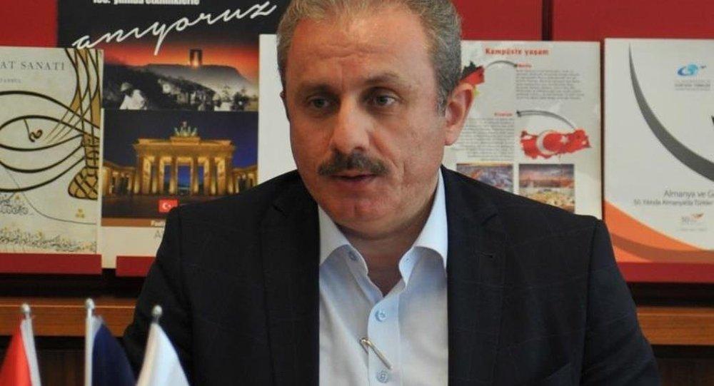 AK Parti Genel Başkan Yardımcısı Mustafa Şentop
