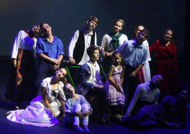 'Akkuyu' çalışanlarının çocukları St. Petersburg sahnesinde