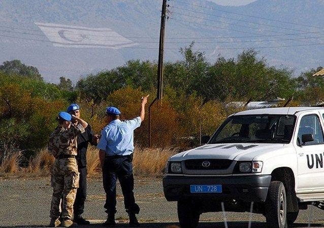 Kıbrıs'ta bulunan BM Barış Gücü