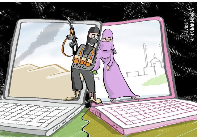 Çeçen kadınlar, IŞİD'i dolandırdı