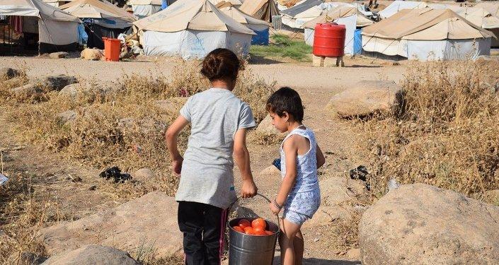 Suriye'deki Nevruz mülteci kampı