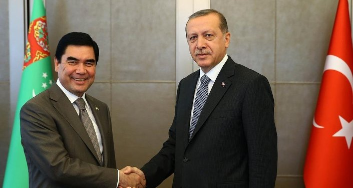 Recep Tayyip Erdoğan & Gurbangulu Berdimuhamedov
