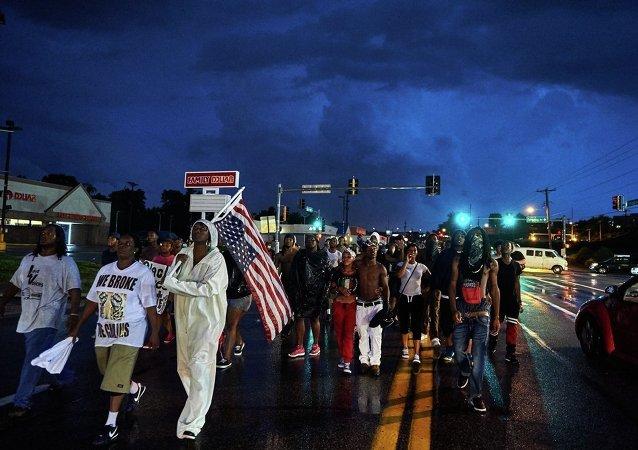 ABD'de Michael Brown gösterileri