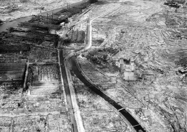 Atom bombalarına hedef olan Nagasaki kenti