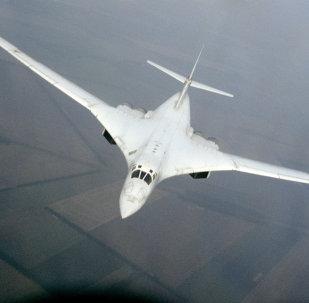 TU-160 tipi bombardıman uçakları