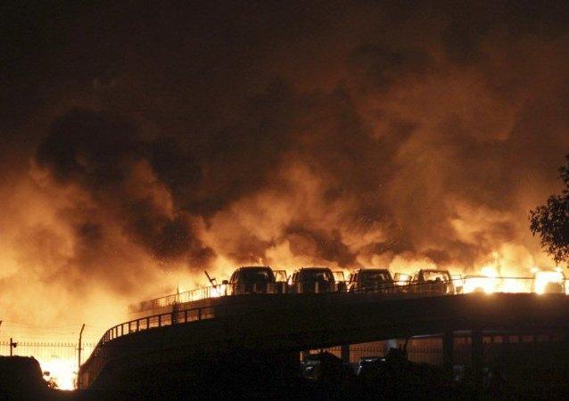 Çin patlama