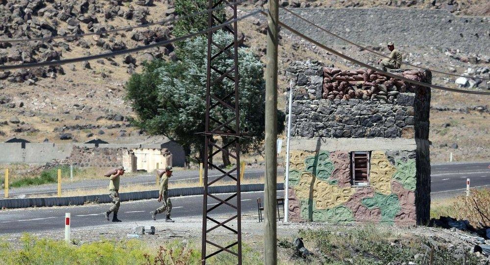 Ağrı'daki jandarma karakoluna saldırı
