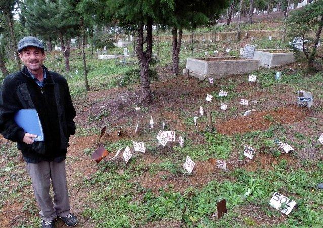 Depremde izin kaybetti,  15 yıl sonra mezarını buldu