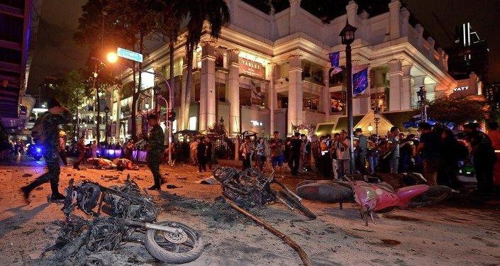 Bangkok saldırı