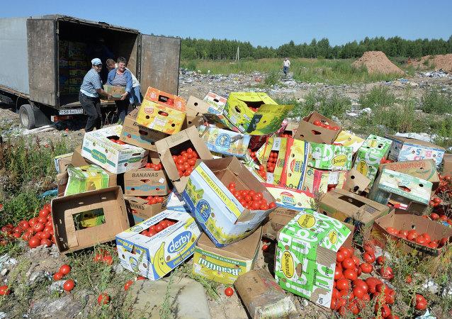 Rusya'da AB gıda ürünlerini imhası