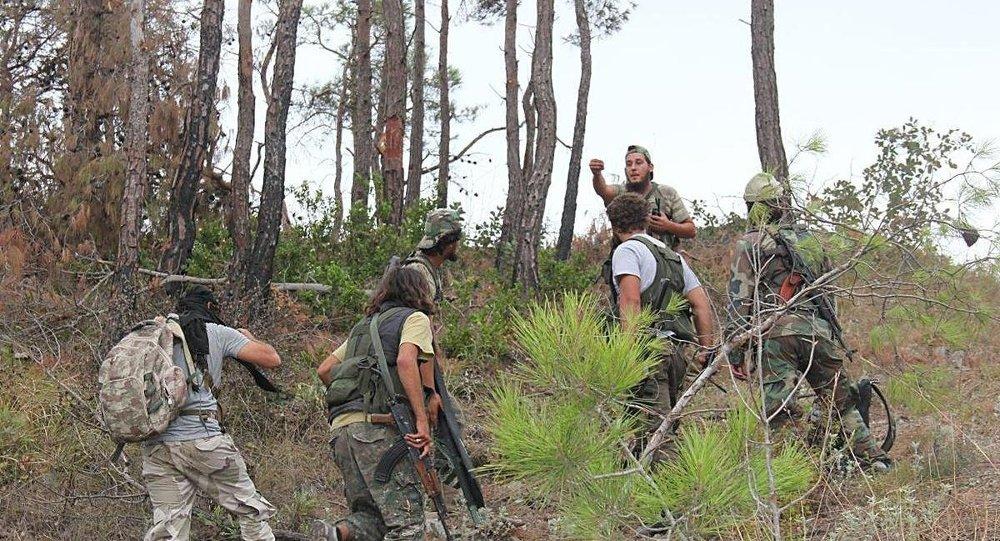 Suriye'deki Türkmen savaşçılar