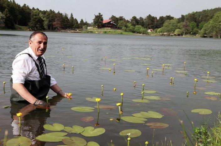 Bolu Belediye Başkanı Alaaddin Yılmaz, gazetecilere, il sınırlarındaki doğal hayatı korumak ve endemik bitkilerine sahip çıkmak için yaptıkları çalışmaları anlattı.