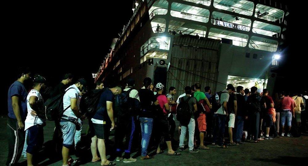 Kos göçmen gemisi