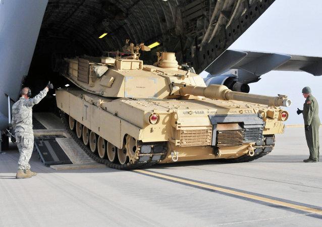 M1 Abrams tipi savaş tankı