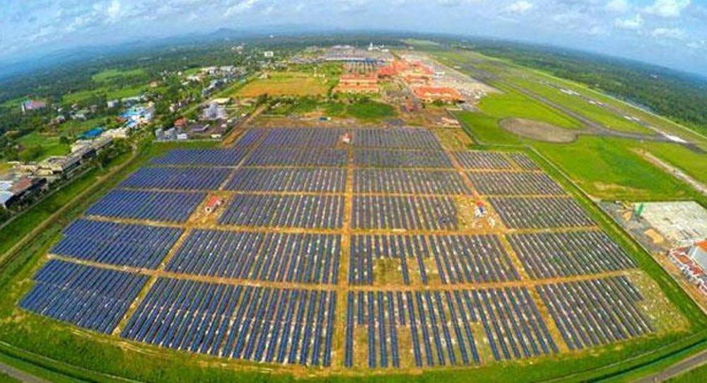 Güneş enerjisiyle çalışacak ilk havaalanı