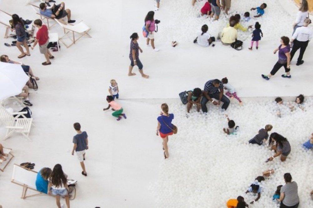 Washington'da yapay havuz