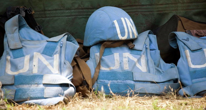 BM Barış Gücü askerlerinin teçhizatları