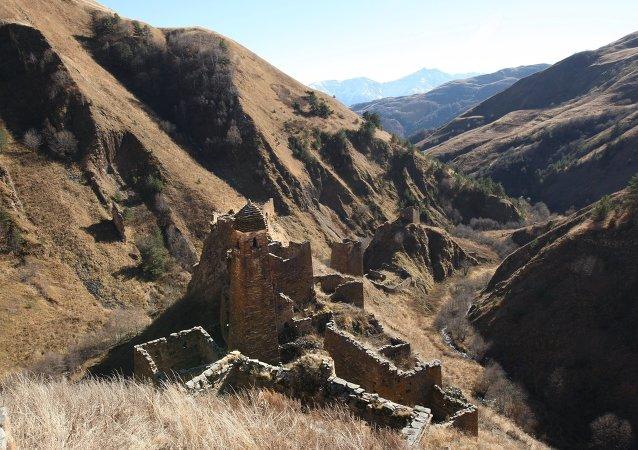 Çeçenistan dağları