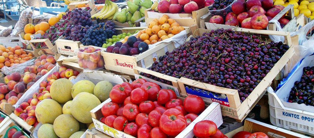 Meyve-sebze pazarı