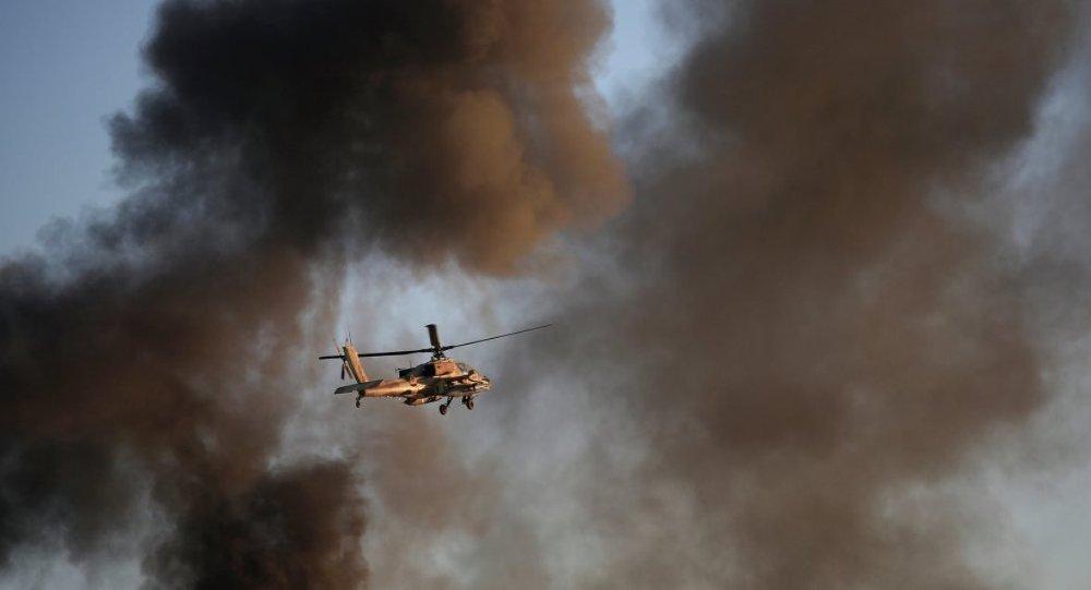 Apachi savaş helikopteri