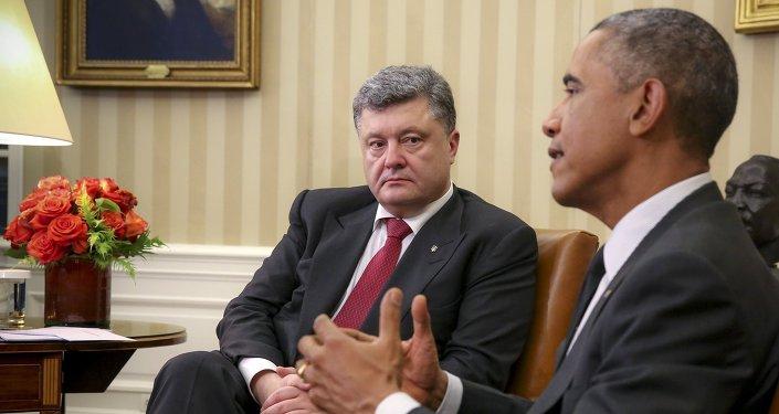 Barack Obama - Pyotr Poroşenko